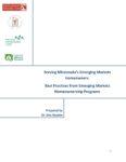 Emerging Markets Homeownership Initiative