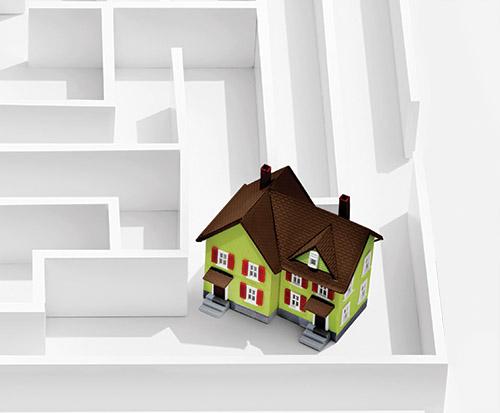 Housing maze by Adam Voorhes