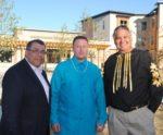 American Indian Community Development Corp. delivers housing on E. Franklin Av.