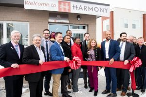Harmony ribbon cutting